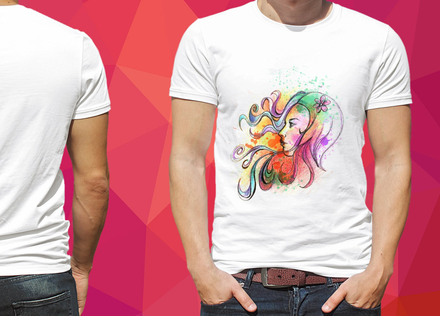 grafica illustrazione per t-shirt
